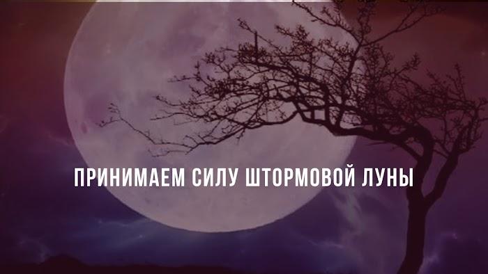 Полнолуние 9 марта делает ставку на любовь. Принимаем силу Штормовой Луны