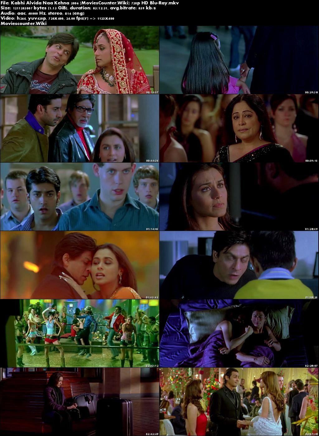 Screen Shots Kabhi Alvida Naa Kehna 2006 Hindi HD 720p