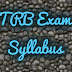 PGTRB-SYLLABUS FOR ALL SUBJECTS