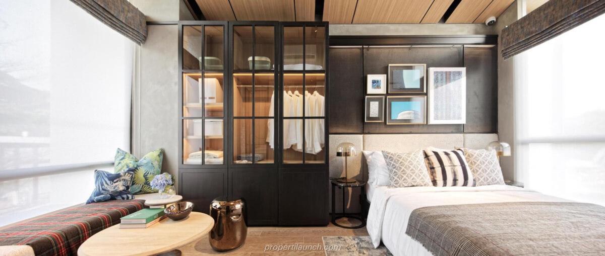 Interior Design Rumah Rolling Hills Karawang Tipe 2 Master Bedroom