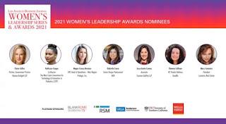 Mary Cummins, Los Angeles Business Journal, nominee, Women's Leadership Awards, los angeles, california, real estate, appraiser, appraisal