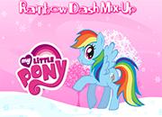 juegos my little pony rainbow dash mix up