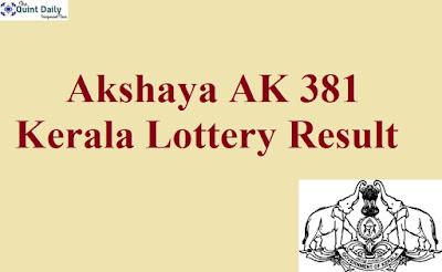 Akshaya AK 381