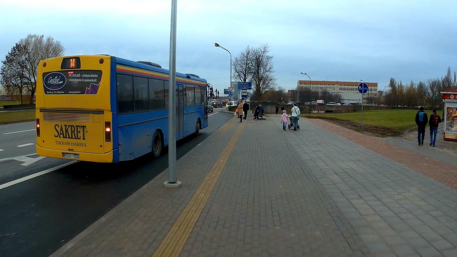 Остановка Baltijos на Тайкос