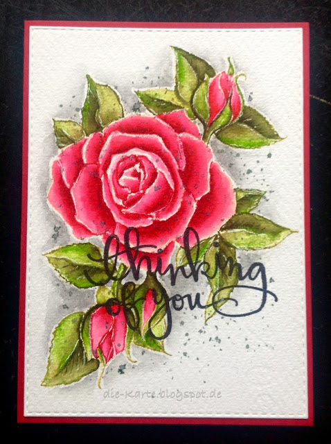 """Timeless Rose"" Stampendous"