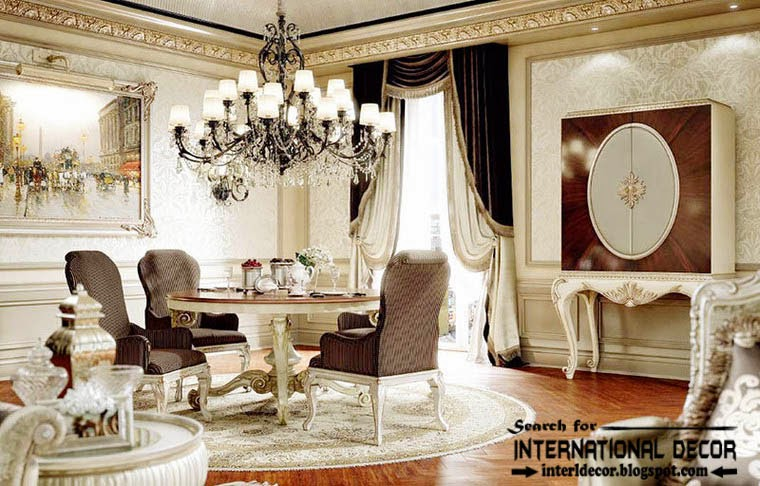 Luxury dining room furniture sets home furniture design Dining set design ideas