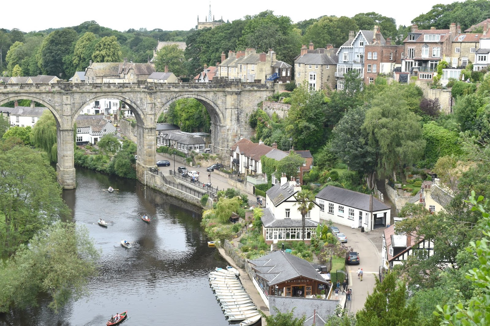 Exploring Harrogate - A Day Trip to Knaresborough and Breakfast at The Wild Plum
