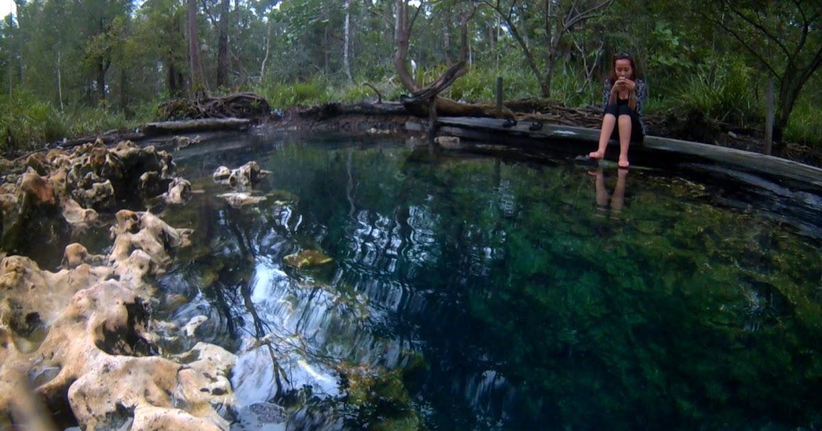Sumber Air Panas Asin Pemapak Satu Lagi Keunikan Berau Backpacker Borneo
