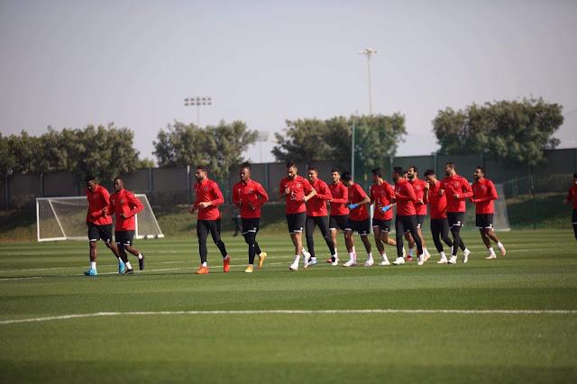 الأهلي في المونديال |  الفريق يخوض مرانًا قويًّا بمشاركة جميع اللاعبين استعدادًا لبايرن ميونيخ 