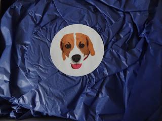 milo mail box sticker