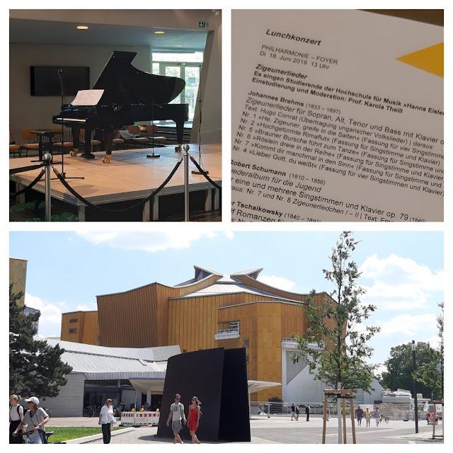 Berlim fora do óbvio - 7 atrações desconhecidas para a maioria dos turistas - Concerto gratuito na Filarmônica de Berlim