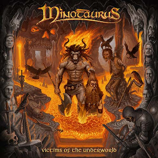"Το album των Minotaurus ""Victims of the Underworld"""