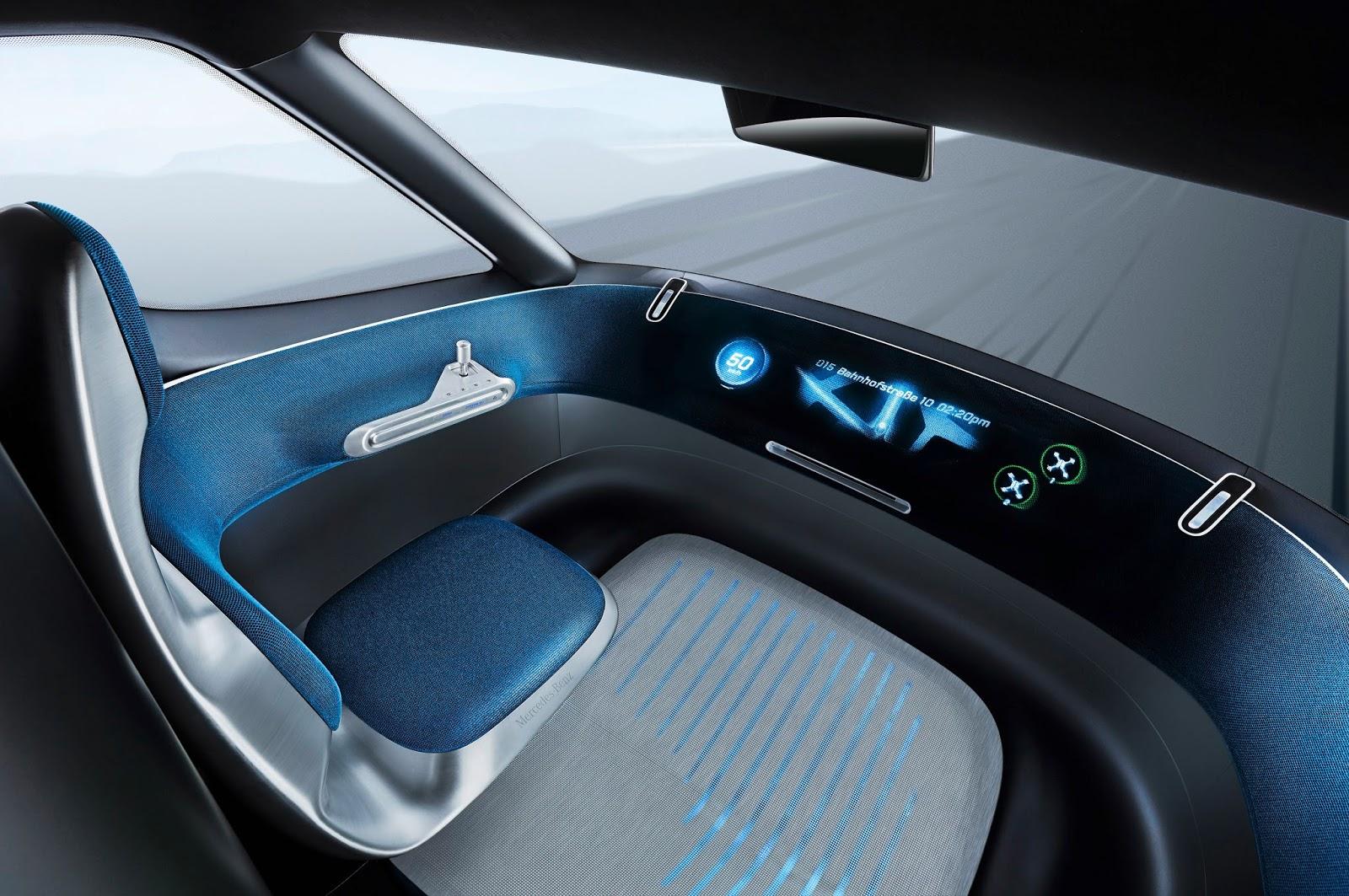 Voiture du Futur: Mercedes Vision Van : l\'utilitaire connecté et ...