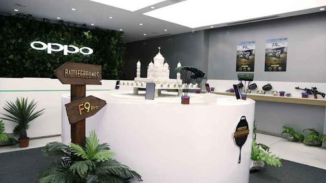 OPPO's First Ever PUBG Theme Store In Bengluru