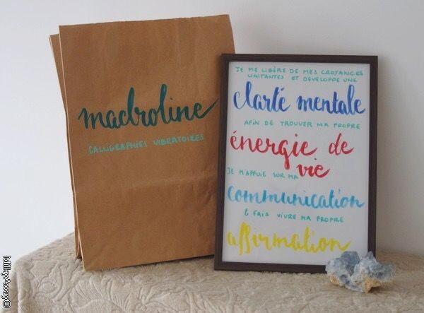 Calligraphie Vibratoire Madroline