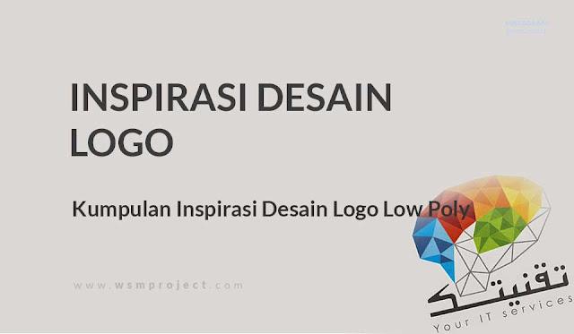 Inspirasi Desain Logo Low Poly