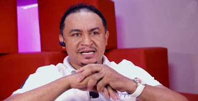 Daddy Freeze cried out after a number tried to hack his WhatsApp