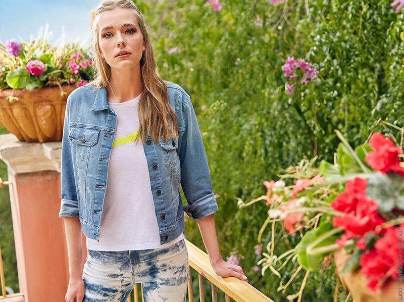 Camperas de jeasn elastizadas primavera verano 2020 de mujer. Moda 2020.