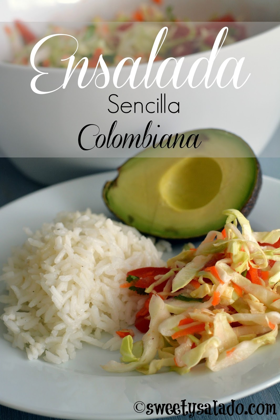 Recetas de ensaladas sencillas colombianas