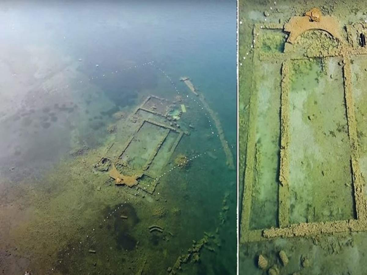 Ancient Church Hidden For 1,600 Years Reappears In Turkish Lake Thanks To Less Pollution