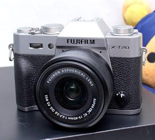 Jual Mirrorless Fujifilm X-T20 Bekas