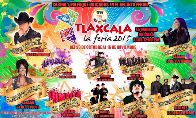palenque feria tlaxcala 2015