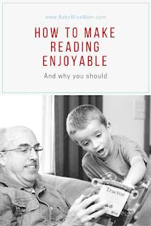 How to Make Reading Enjoyable {And Why You Should}