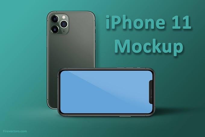 iPhone 11 PSD Mockup