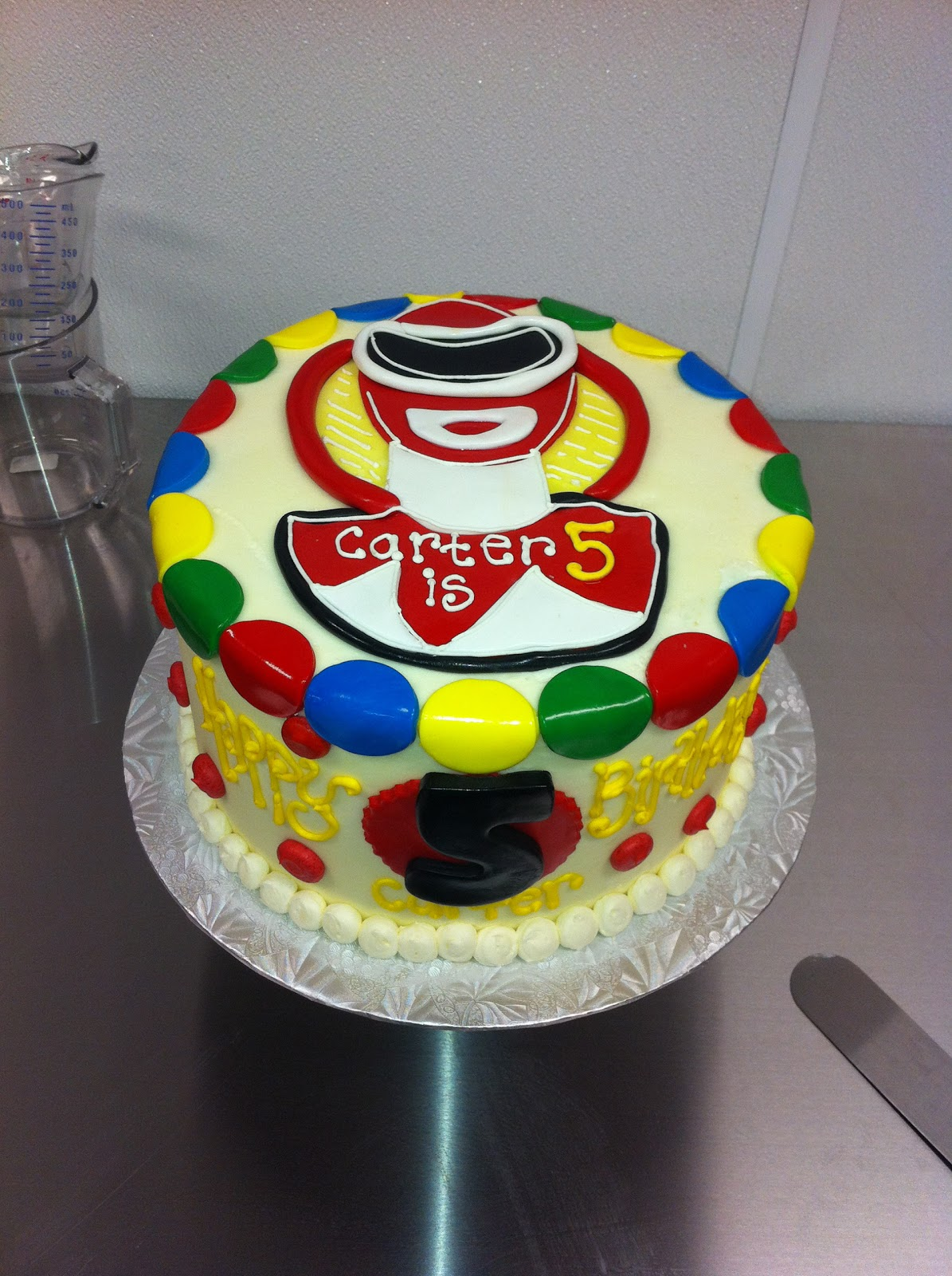 Coolest Cupcakes Red Power Rangers Cake