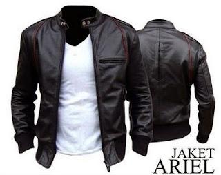 Gambar Jacket Kulit Ariel