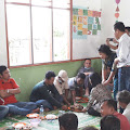 Dapat Bantuan Pembangunan, SMP N 2 Pangururan Gelar Syukuran