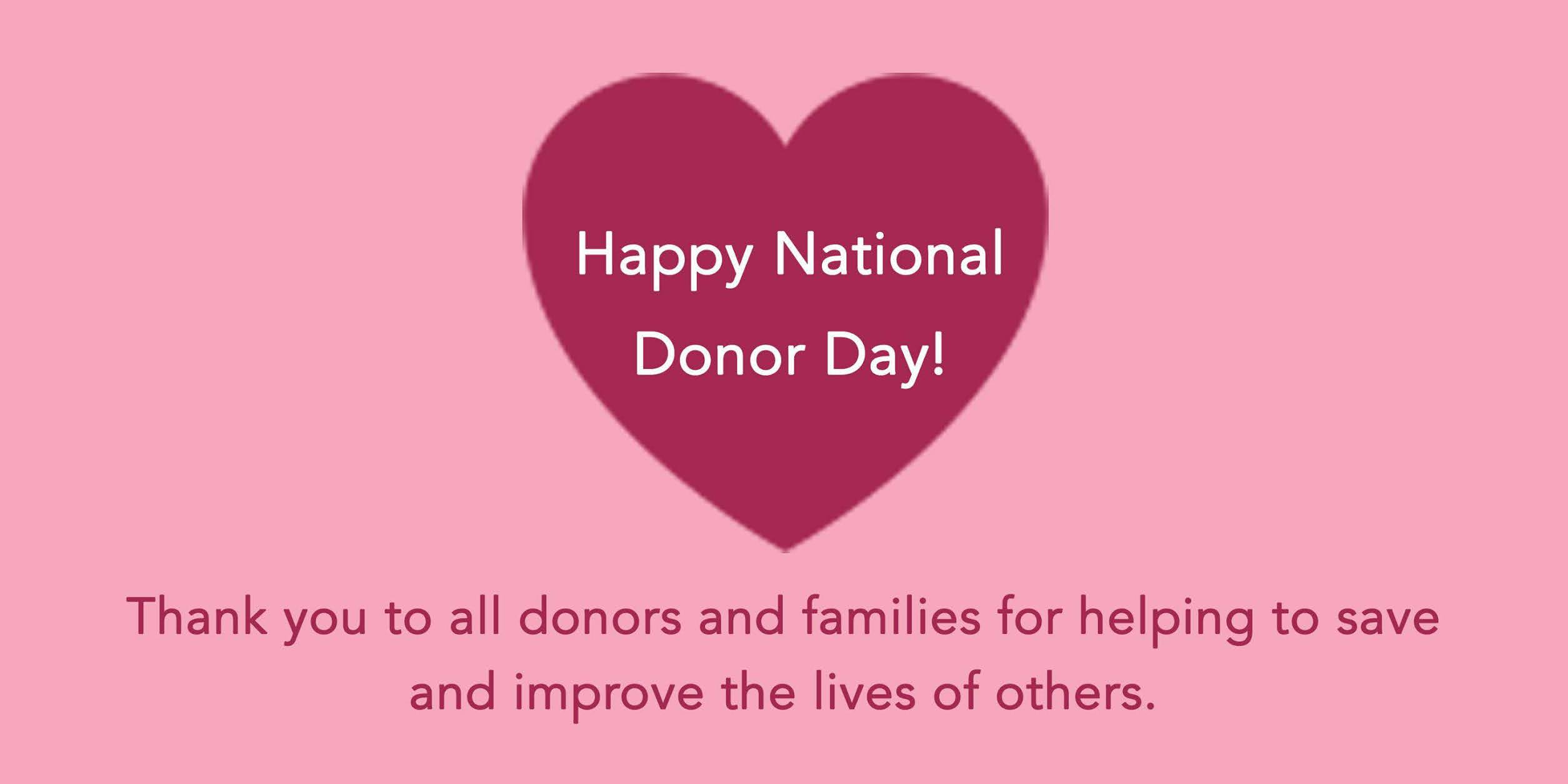National Donor Day Wishes For Facebook