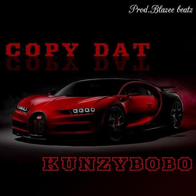 "Kunzybobo - ""Copy Dat"" (God's plan freestyle)"