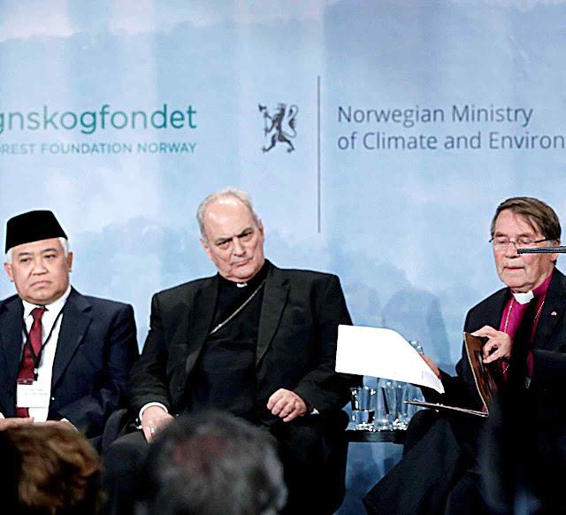 Mons. Sánchez Sorondo representou o Vaticano na Iniciativa 'interreligiosa' de ambientalistas de esquerda