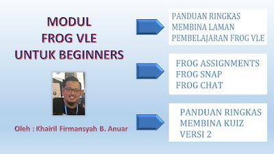 Modul Frog VLE Untuk Beginners