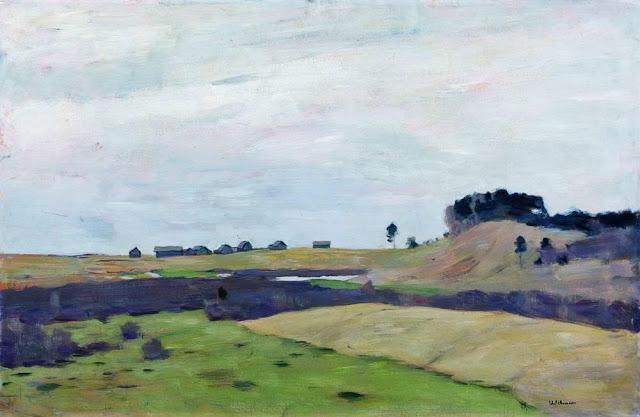 Исаак Ильич Левитан - Поля. 1899