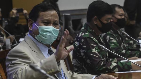 Disinggung Sri Mulyani, Segini Anggaran Belanja Alutsista Prabowo