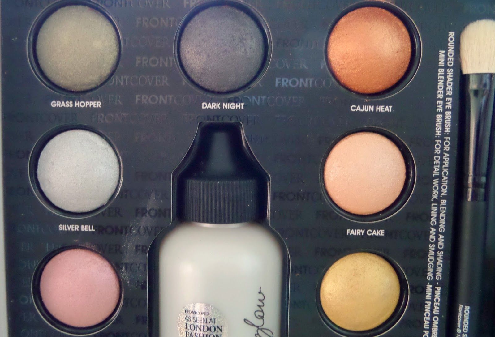 Front Cover Eye Colour Revolution Makeup Set Close Up