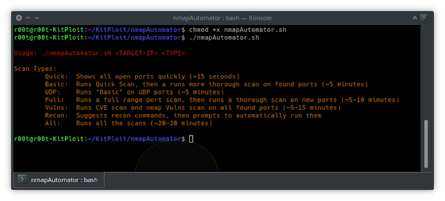 nmapAutomator - Tool To Automate All Of The Process Of Recon/Enumeration