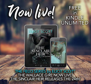 [Release Day Blast) The Wallace Girl by Eliot Scott