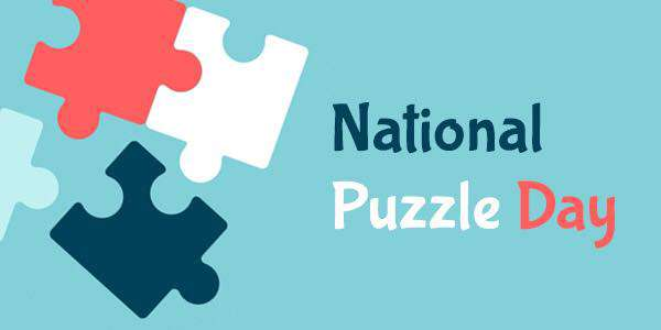 National Puzzle Day Wishes Images download