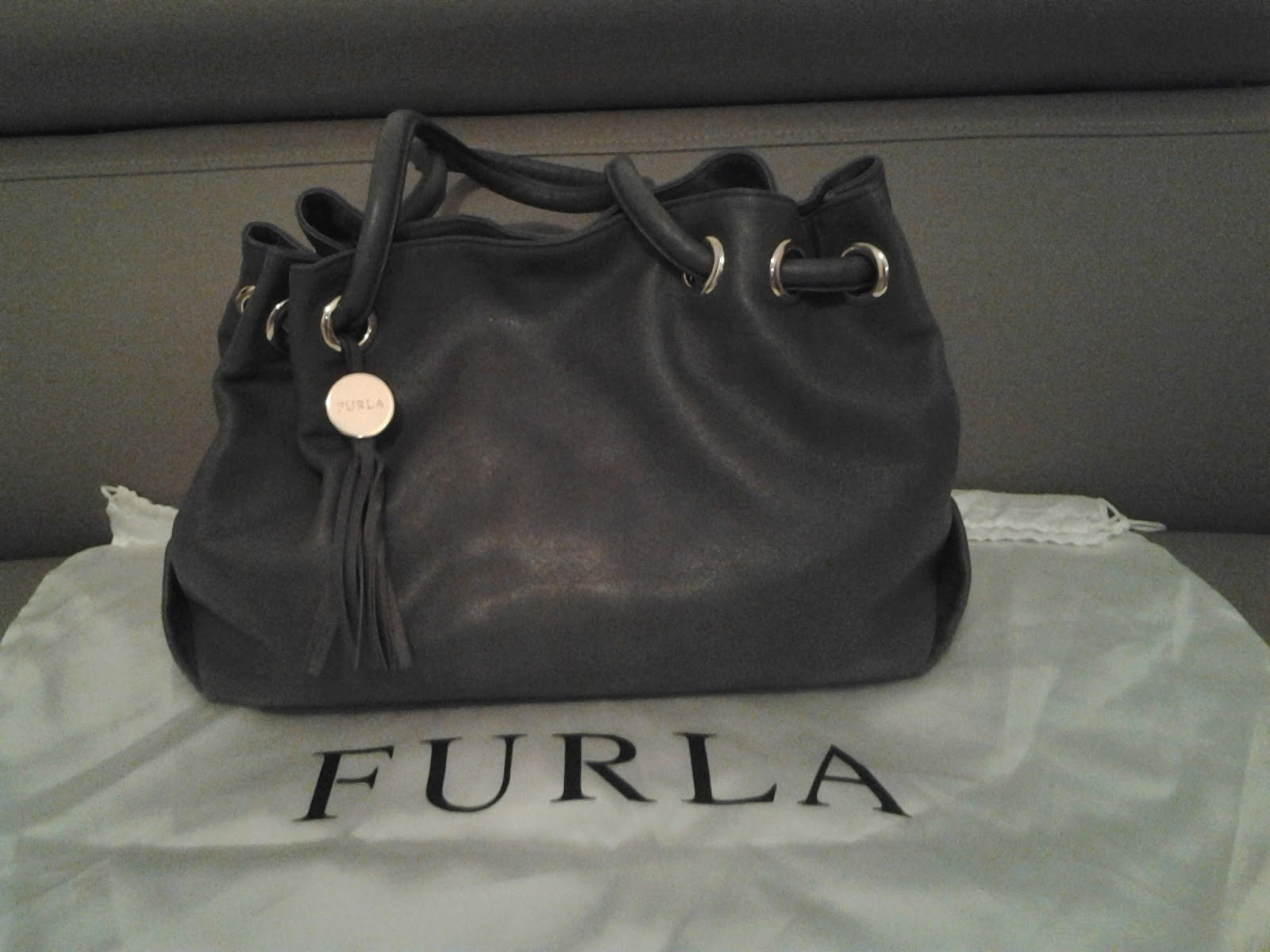 Sold For Preowned Furla Carmen Medium Per Bag Leather 1 2 Million From Original Price 5 8million