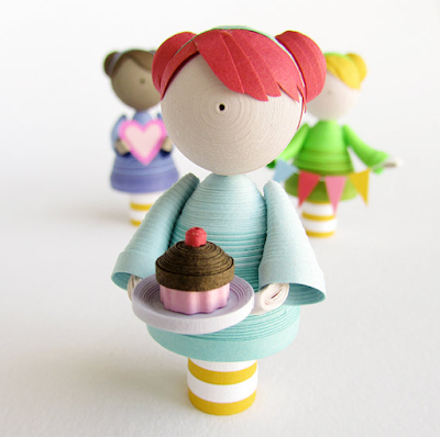 CUte quilling handmade doll designs - quillingpaperdesigns