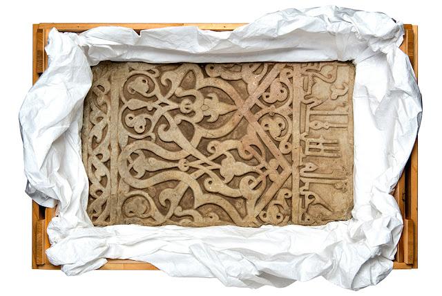 MKG Hamburg returns 12th-century marble panel to Afghanistan