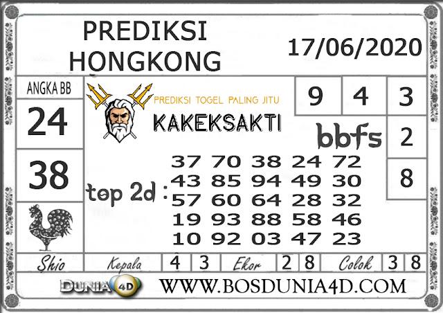Prediksi Togel HONGKONG DUNIA4D 17 JUNI 2020