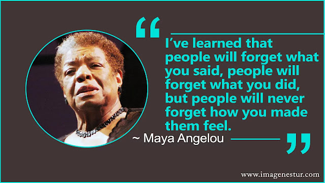 Maya Angelou Quotes about people