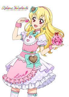Foto Gambar Ichigo Hoshimiya Aikatsu Anime Cewek Cantik (1)