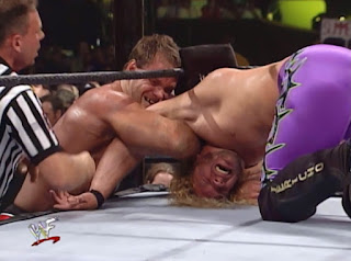 WWE / WWF Summerslam 2000 - Krispin Wah puts a hurtin' on Y2J