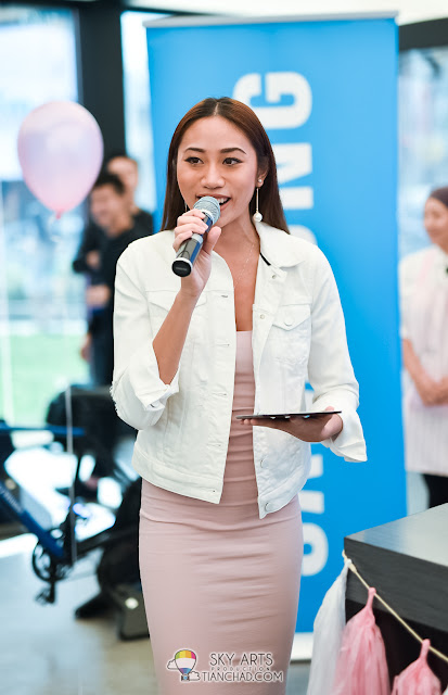 "Alexis SueAnn - Event Emee for Samsung ""Sweet Treats Workshop"""