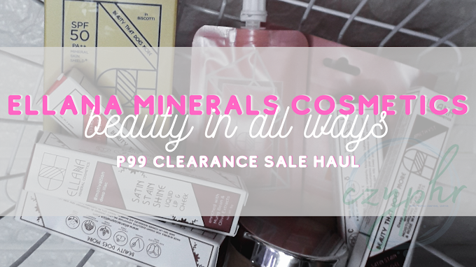 My Ellana Minerals Cosmetics Clearance Sale Haul | Makeup  2020